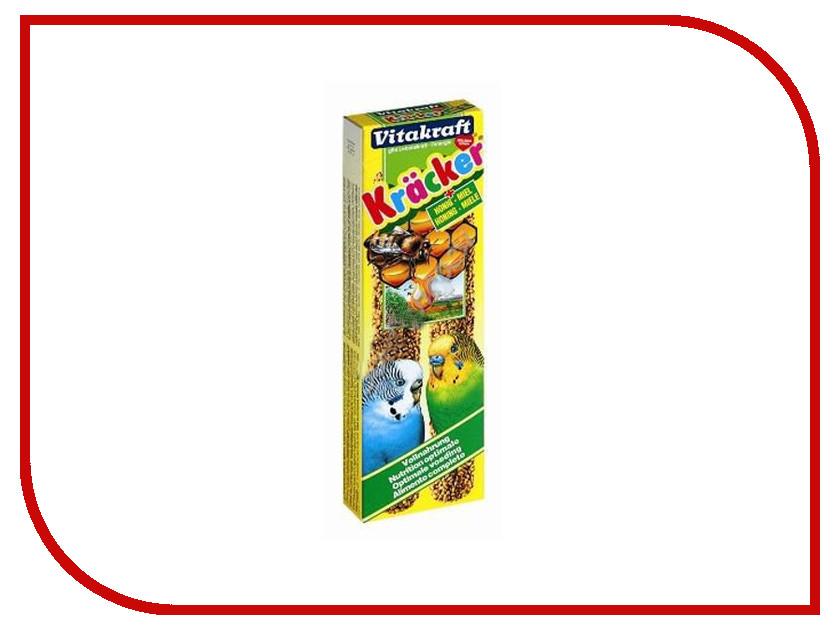 Vitakraft Крекеры Медовые 2шт для волнистых попугаев 3292 vitakraft корм для волнистых попугаев vitakraft menu vital 500 г