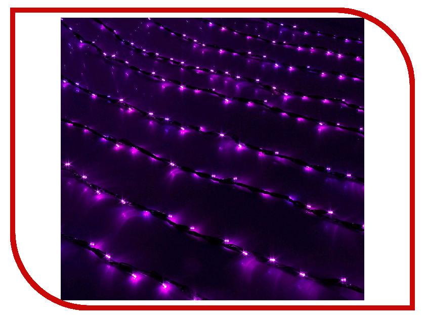 Гирлянда Luazon Дождь 2m-1.5m Purple 187297