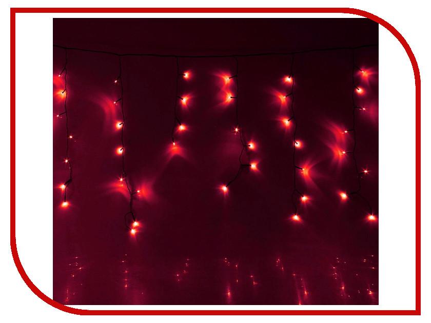 Гирлянда Luazon Бахрома 1.2m-0.6m Red 671588 гирлянда luazon дождь 2m 6m multicolor 671678