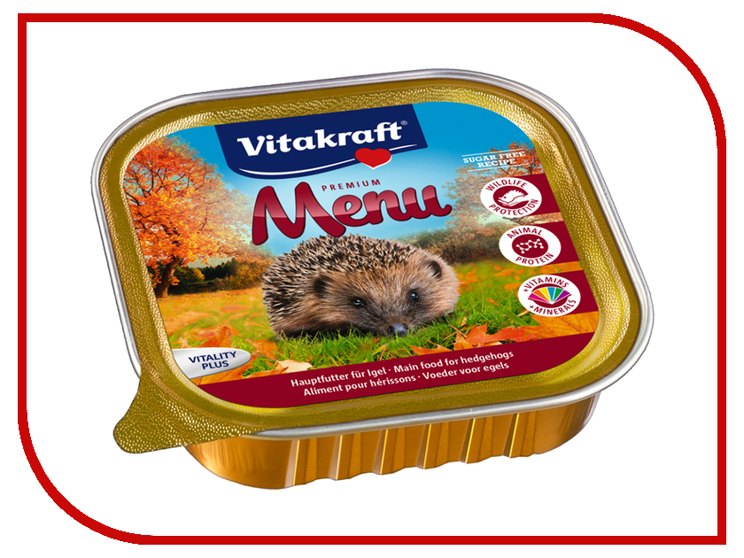 Vitakraft Menu 100g для ежей 57396