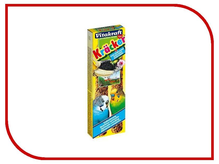 Vitakraft Крекеры Кунжут Банан 2шт для волнистых попугаев 3297 корм для птиц vitakraft подкормка для волнистых попугаев йодная 20 г