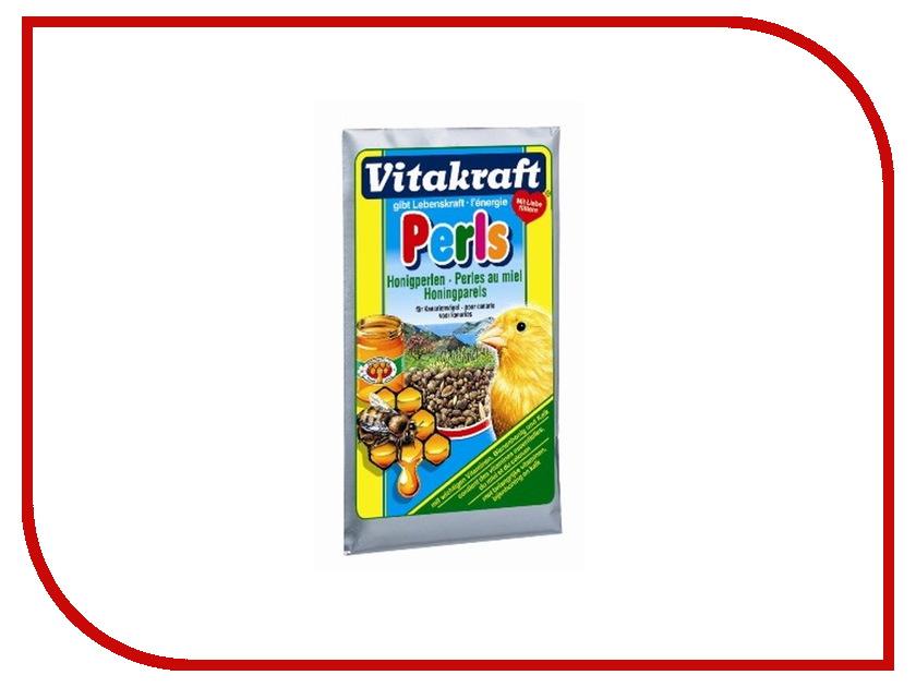 Vitakraft Perls Медовая 20g для канареек 3275 корм для птиц vitakraft menu vital для волнистых попугаев основной 1кг