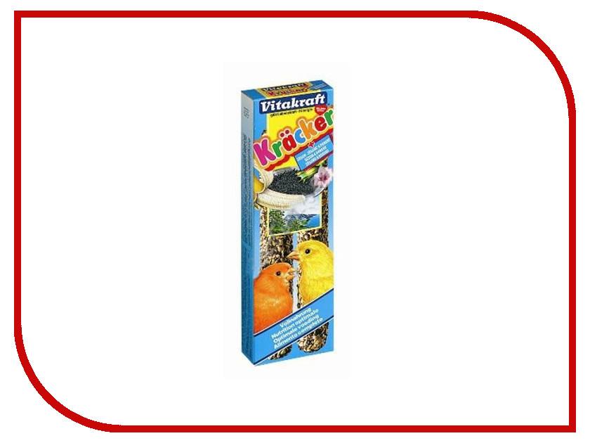 Vitakraft Крекеры Кунжут с Бананом 2шт для канареек 3305 корм для птиц vitakraft menu vital для волнистых попугаев основной 1кг
