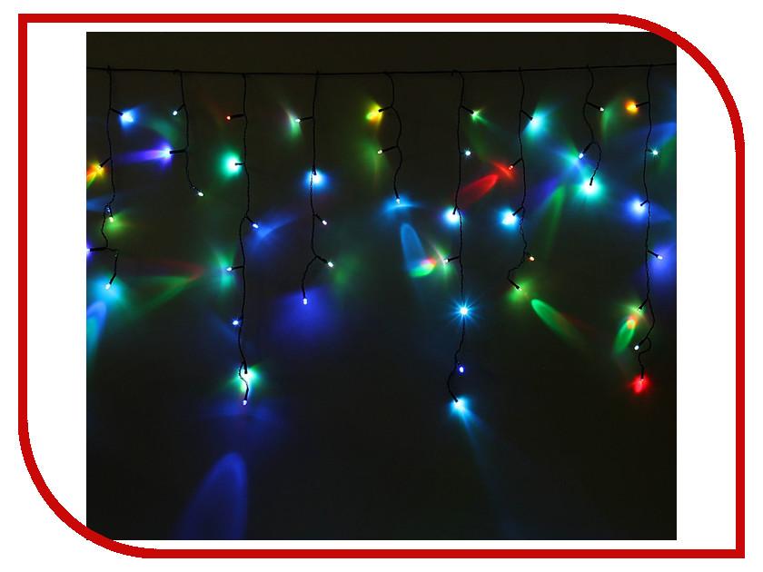Гирлянда Luazon Бахрома 1.2m-0.6m Multicolor RGB 1080411 гирлянда luazon метраж 5 2m led 50 220v multicolor rgb 1080348
