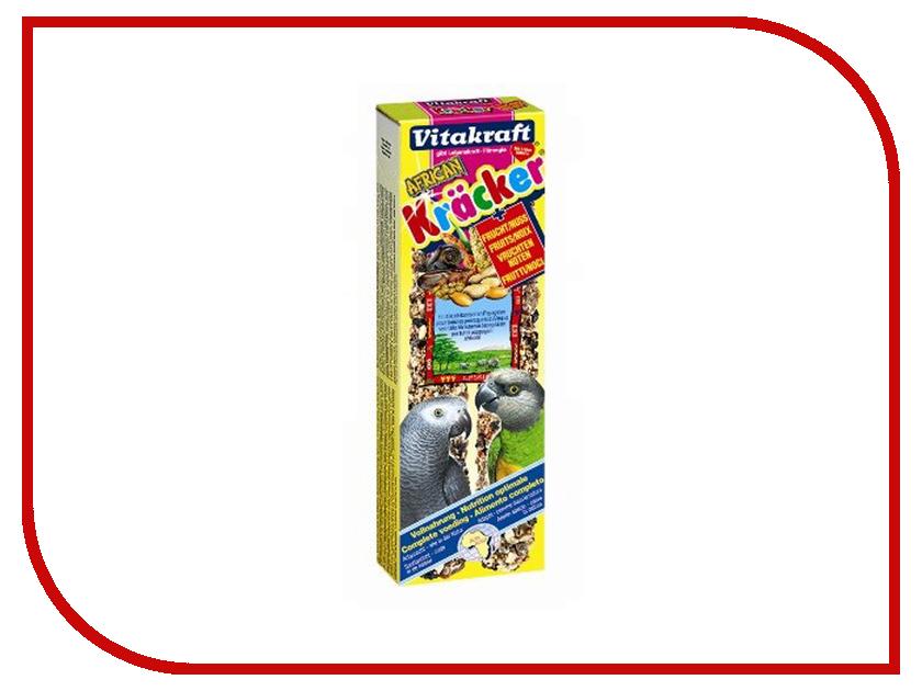 Vitakraft Крекеры 2шт Ореховые для крупных попугаев 03287 корм vitakraft menu для крупных попугаев основной 1 кг