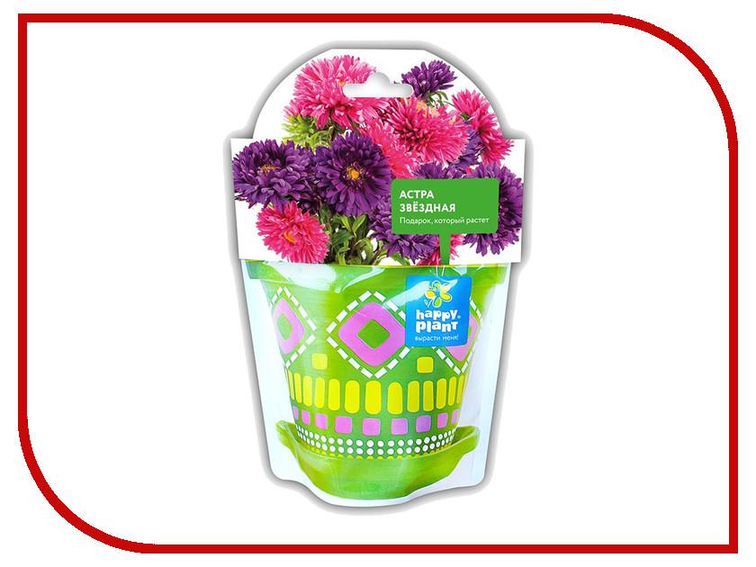 Растение Happy Plant Астра звездная hpd-6 растение happy plant горшок руккола пряная hpn 16