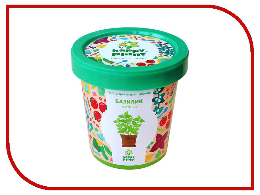 Растение Happy Plant Горшок Базилик зеленый hpn-14