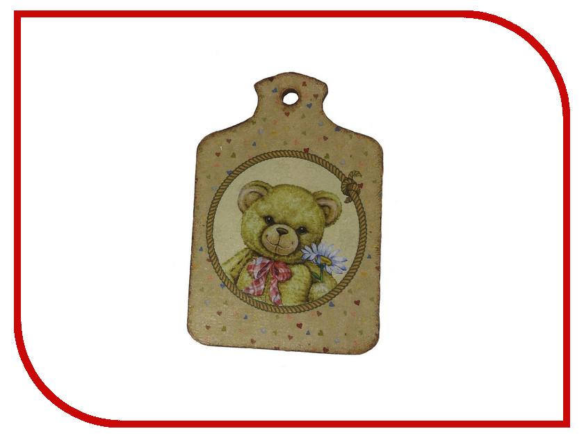 Набор Азбука тойс Декупаж Доска малая Мишка с бантом ДД-0007 азбука тойс кормушка для птиц декупаж