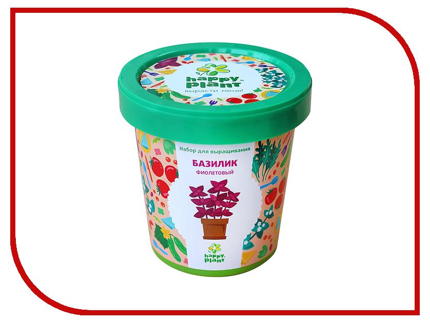 Растение Happy Plant Горшок Базилик фиолетовый hpn-5