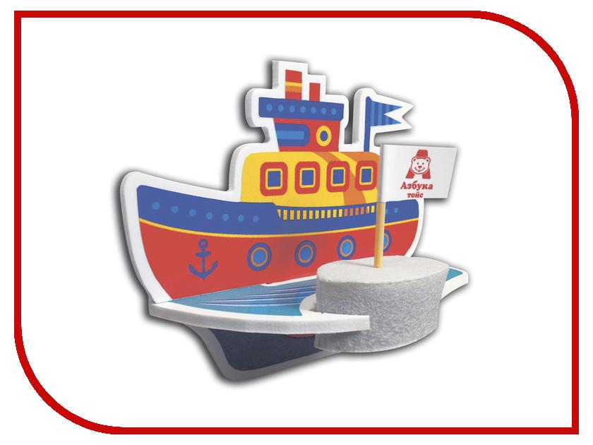 Сборная модель Азбука тойс Буксир ЮМ-0003 наборы для поделок азбука тойс аппликация из пуговиц подводный мир
