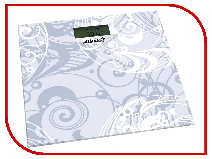 Весы напольные Atlanta ATH-6133 White