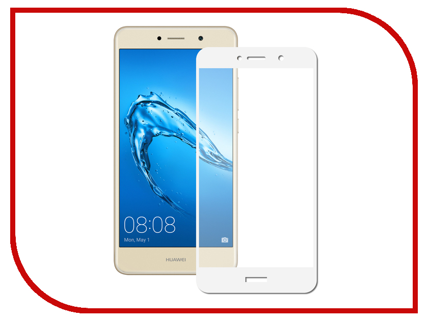 Аксессуар Защитное стекло Huawei Y7 2017 Svekla Full Screen White ZS-SVHWY72017-FSWH аксессуар защитное стекло huawei honor 6c svekla zs svhwh6c