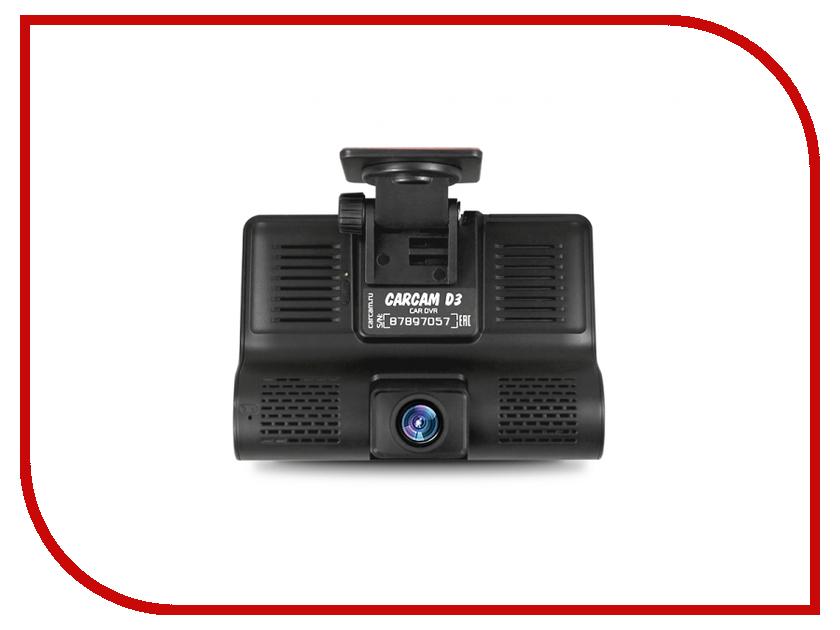 Видеорегистратор Каркам CarCam D3 видеорегистратор каркам carcam f2