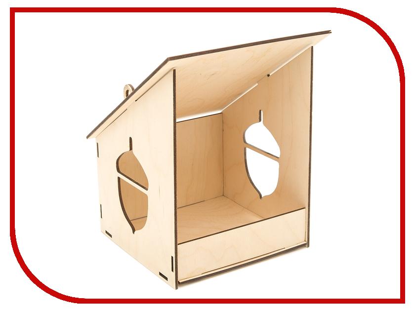 Конструктор Азбука тойс Кормушка для птиц Желудь З-0003 сортеры азбука тойс рамка шнуровка для фото краб