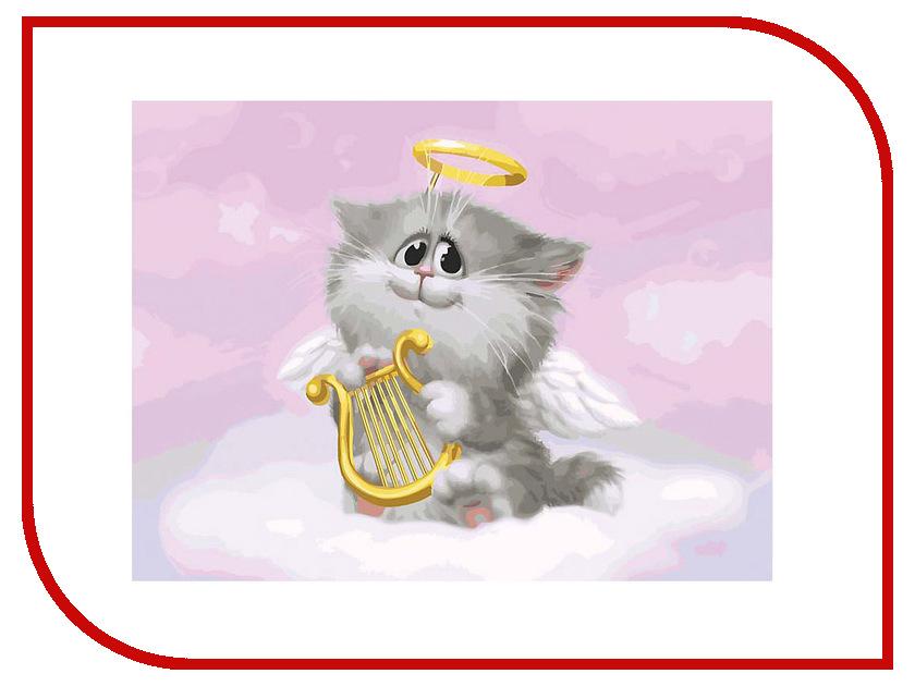 Набор Белоснежка Котёнок-ангелочек 744-AS