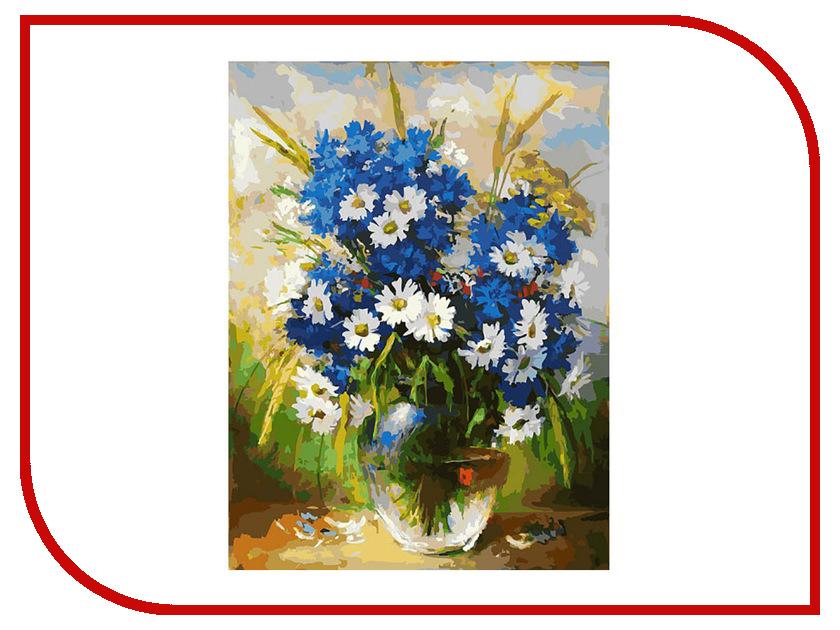 Белоснежка Ромашки и васильки 143-AS набор для творчества белоснежка живопись на холсте 40 50 разноцветные ромашки