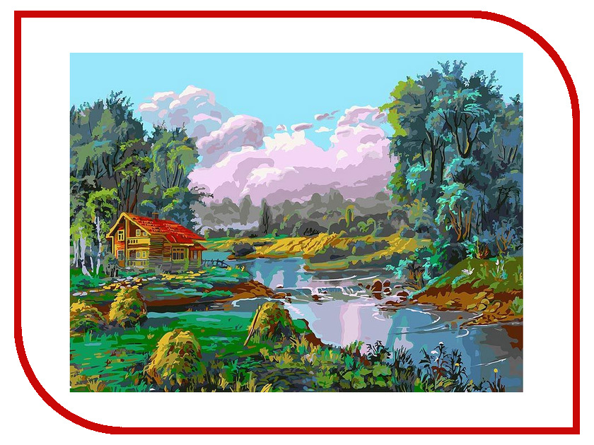 Набор Белоснежка Стога у реки 067-AS