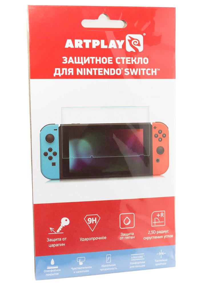 Защитное стекло Artplays для Nintendo Switch ACSWT20 геймпад artplays ns45 для nintendo switch acswt30 черный