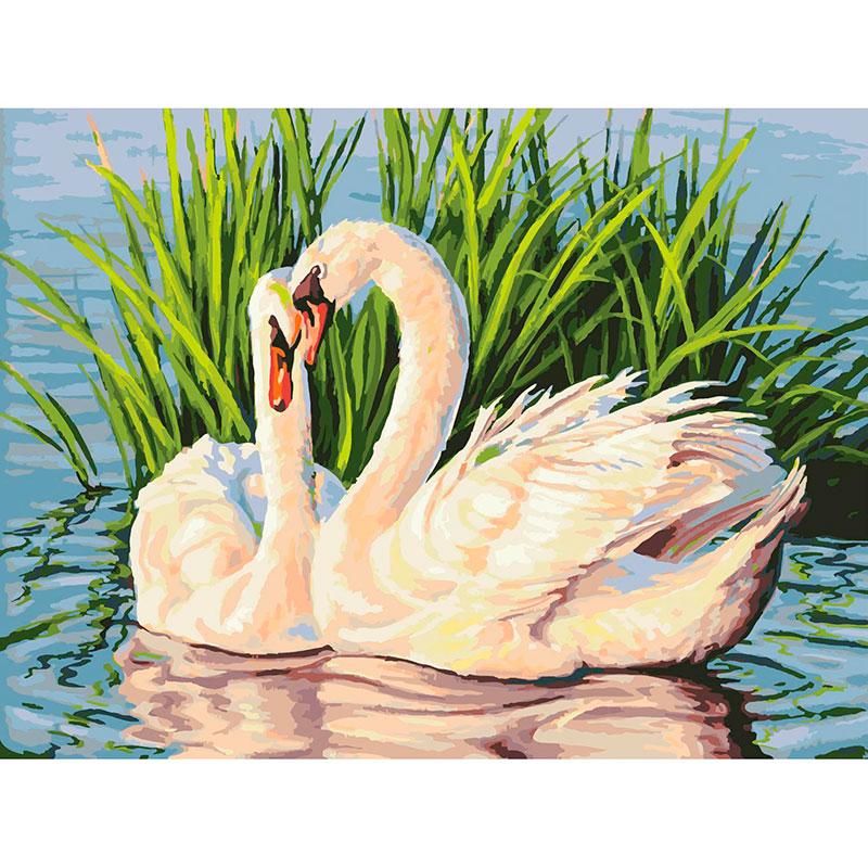 Картина по номерам Белоснежка Навсегда 065-AS картина по номерам белоснежка птичка на заборе 313 as