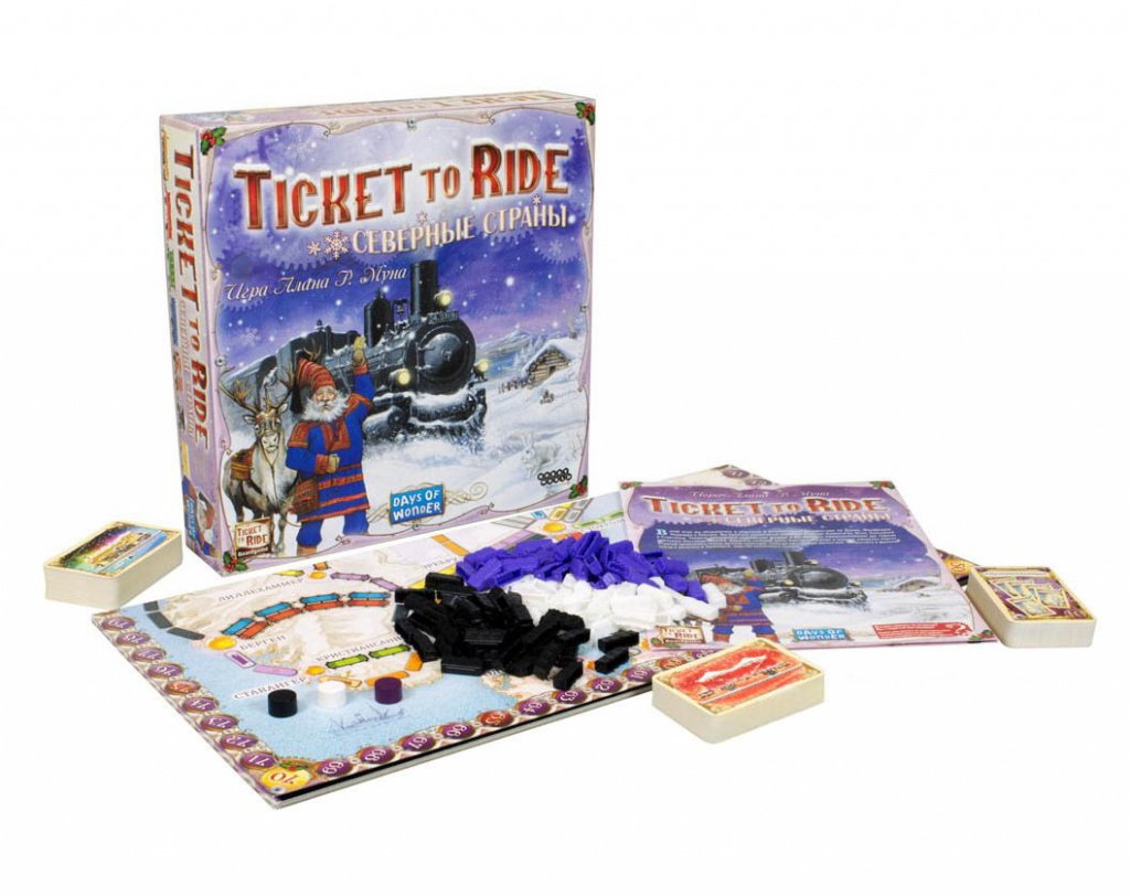 Настольная игра Hobby World Ticket to Ride Северные страны 1702