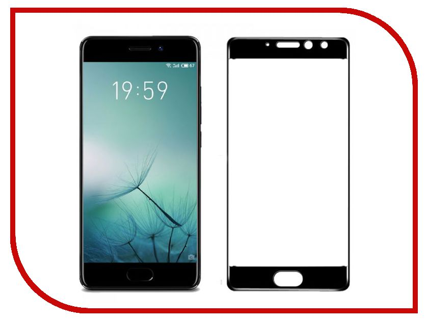 Аксессуар Защитное стекло для Meizu Pro 7 Plus Svekla Full Screen Black ZS-SVMZPRO7PLUS-FSBL аксессуар защитное стекло для meizu m5s svekla full screen black zs svmzm5s fsbl