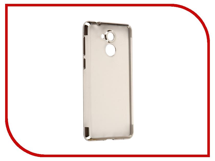 Аксессуар Чехол Huawei Honor 6C Svekla Flash Silicone Silver SVF-HWH6C-SIL аксессуар защитное стекло huawei honor 6c svekla zs svhwh6c