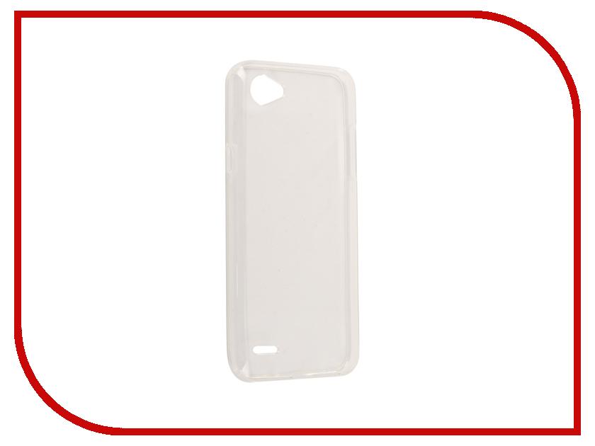 Аксессуар Чехол LG Q6A M700 Svekla Silicone Transparent SV-LGQ6-WH пылесос lg vc53202nhtr