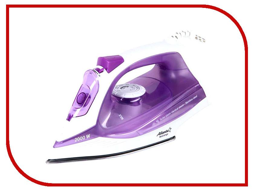 Утюг Atlanta ATH-5537 Violet atlanta ath 5537 violet утюг