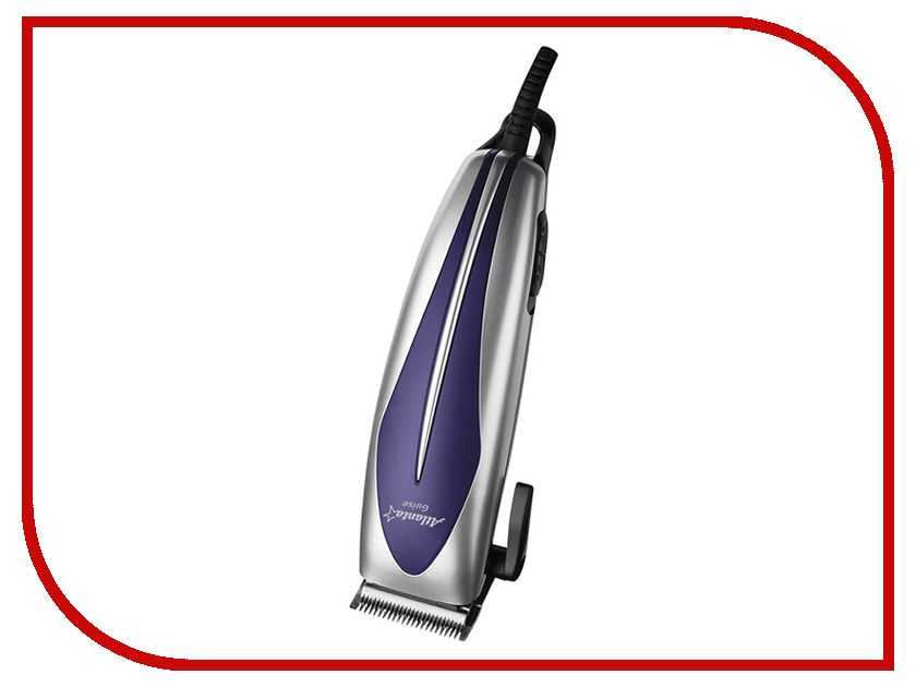 Машинка для стрижки волос Atlanta ATH-6883 Silver машинка для стрижки волос atlanta ath 6883 голубой