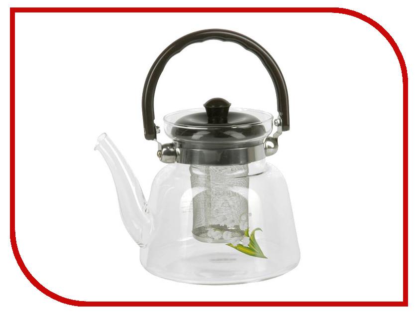 Чайник заварочный Rosenberg RGL-250005-L чайник заварочный rosenberg rgl 250019 1 1l