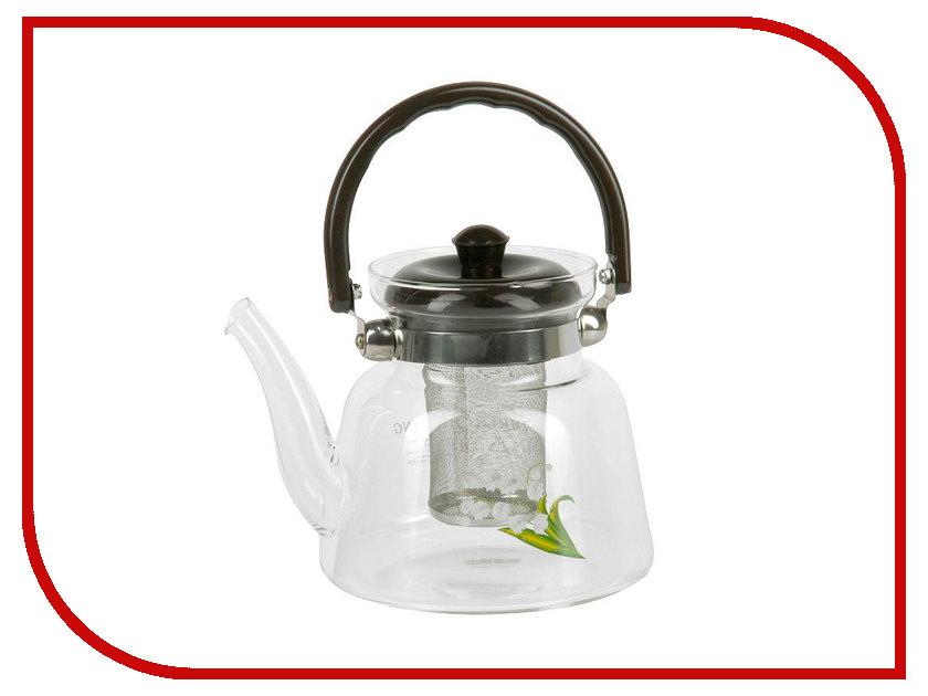 Чайник заварочный Rosenberg RGL-250005-M френч пресс rosenberg rsg 660009 m