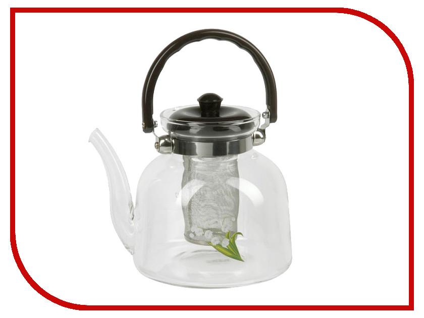 Чайник заварочный Rosenberg RGL-250005-XL чайник заварочный rosenberg rgl 250019 1 1l