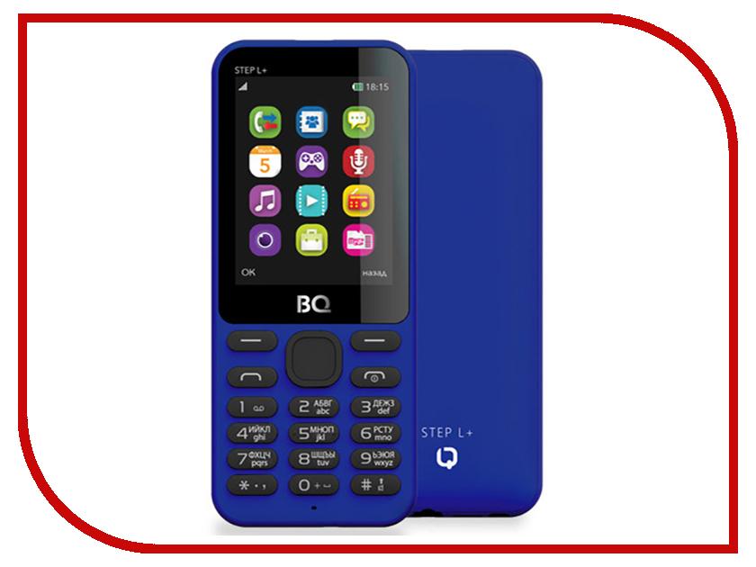 Сотовый телефон BQ BQ-2431 Step L+ Dark Blue сотовый телефон bq 2426 energy l black