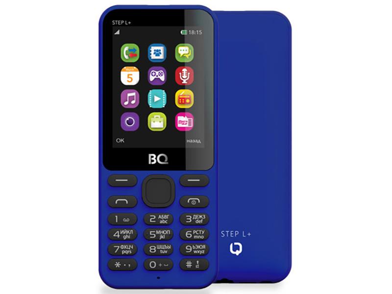 Сотовый телефон BQ BQ-2431 Step L+ Dark Blue