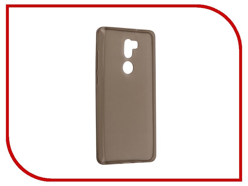 Аксессуар Чехол Xiaomi Mi5S Plus Svekla Silicone Grey SV-XIMI5SPLUS-BL телефон xiaomi mi5s plus 64gb золотой
