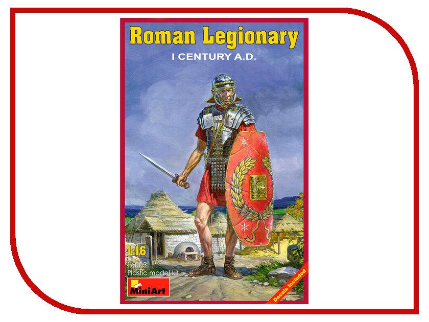 Сборная модель MiniArt Римский легионер I век н.э. 16005М римский корсаков