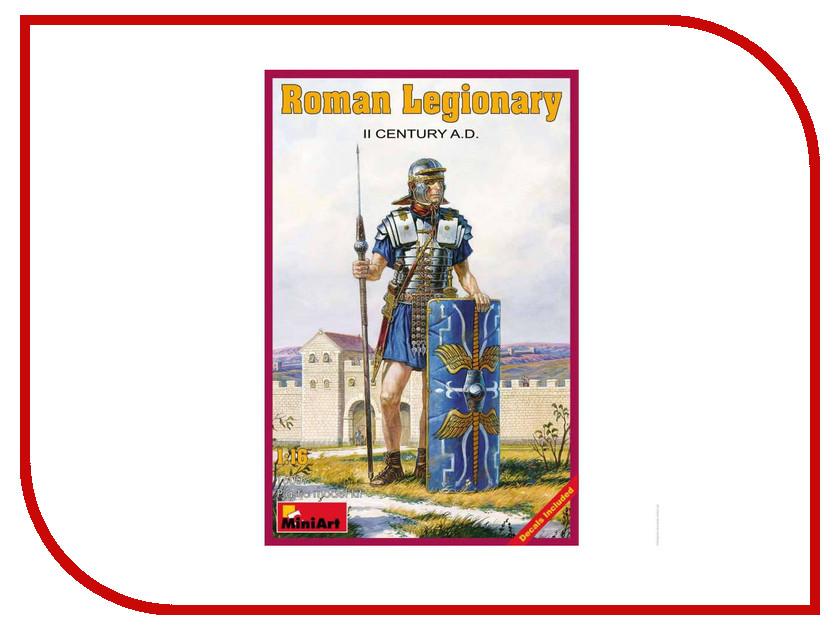 Сборная модель MiniArt Римский легионер II век н.э. 16007М римский корсаков