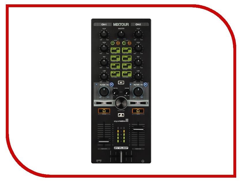Dj контроллер Reloop Mixtour проигрыватель винила с прямым приводом reloop rp 7000 mk2