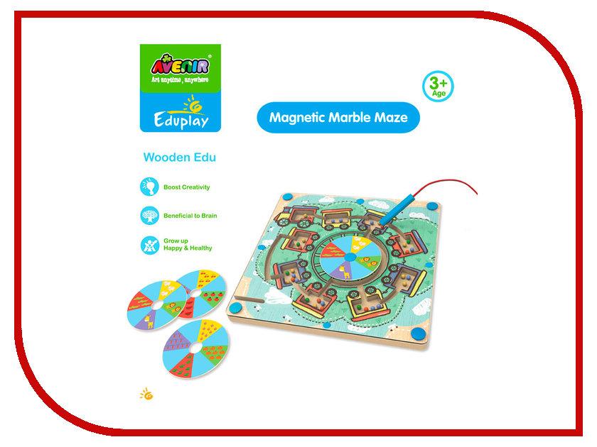 Игрушка Avenir Деревянный лабиринт с магнитными шариками EP3048 сабо avenir