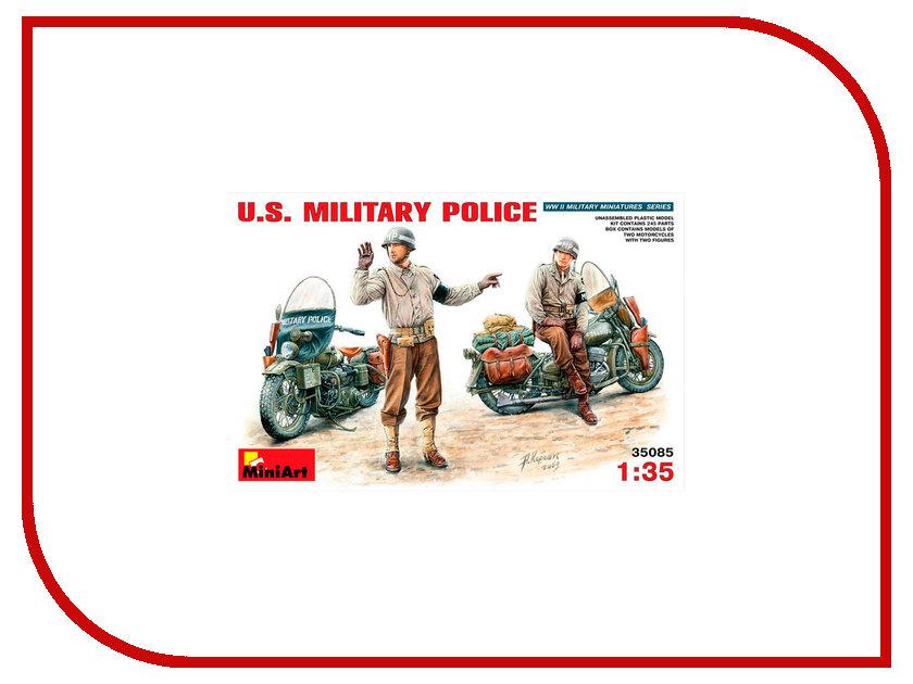 Сборная модель MiniArt Военная полиция США 35085M сборная модель miniart уличные аксессуары 35530м