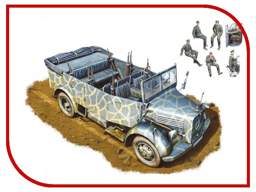 Сборная модель MiniArt Kfz.70 MB 1500A Немецкий Полноприводный Автомобиль с Экипажем 35139М