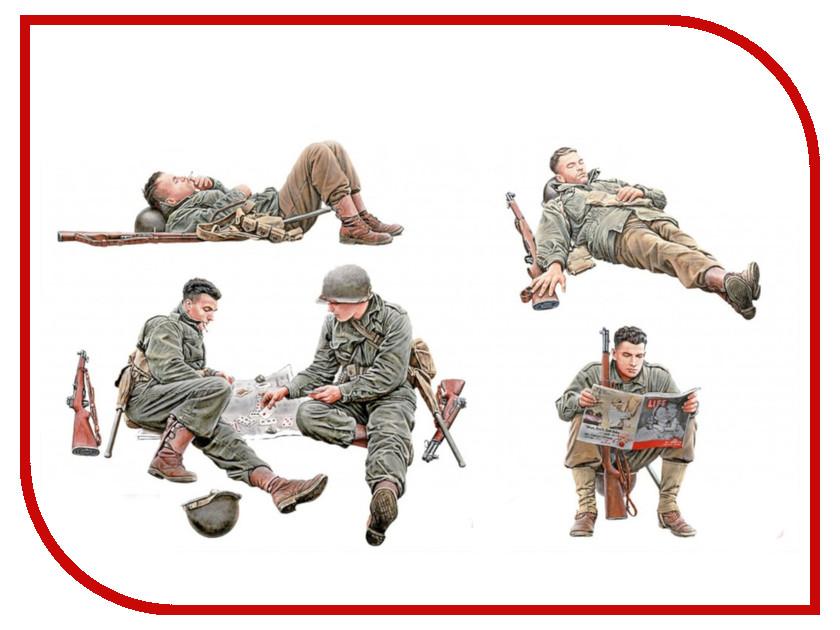 Сборная модель MiniArt Американские солдаты на отдыхе 35200М купить американские соусы