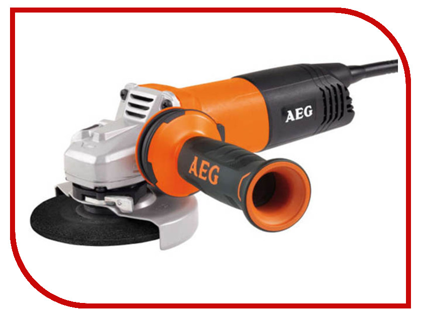 Шлифовальная машина AEG WS12-115 4935451408 штроборез aeg mfe 1500