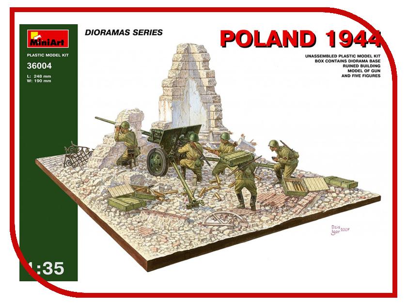 Сборная модель MiniArt Польша 1944 Советская артиллерия 36004М противотанковая артиллерия гитлера от дверных колотушек до убийц танков