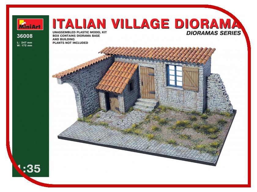 Сборная модель MiniArt Итальянская деревенская диорама 36008М