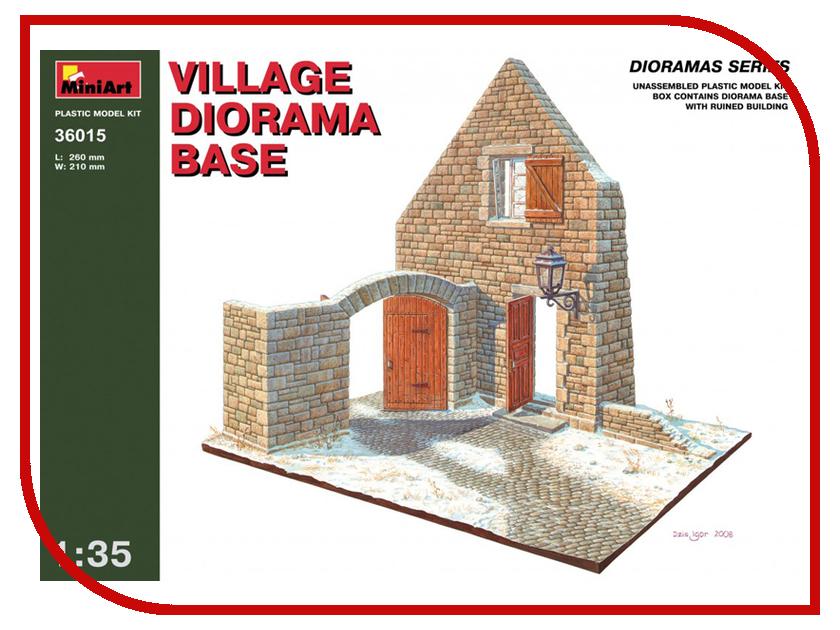 Сборная модель MiniArt Деревенская диорама 36015М