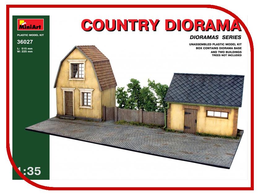 Сборная модель MiniArt Сельская диорама 36027М региональное развитие сельская местность