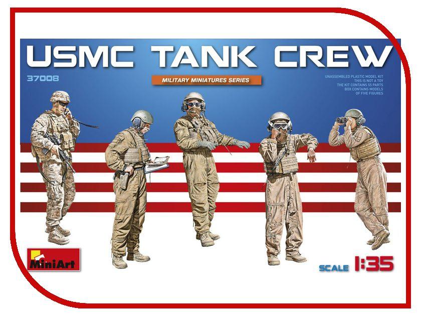 Сборная модель MiniArt Танковый экипаж морской пехоты 37008М экипаж
