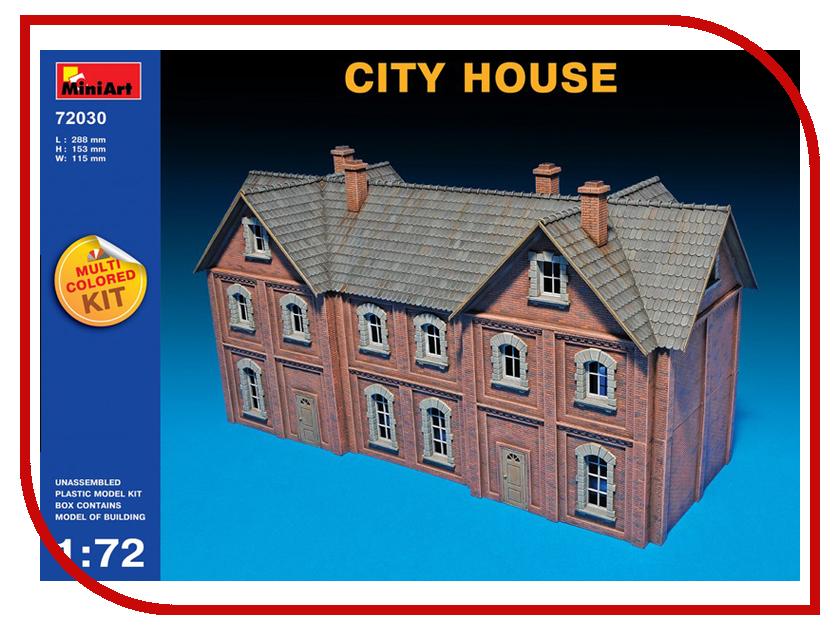 Сборная модель MiniArt Городской дом 72030М журнал социального педагога