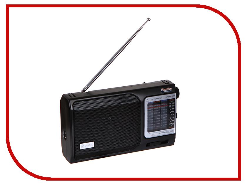 Радиоприемник Vitek VT-3582 BK сэндвичница vitek vt 7146 bk
